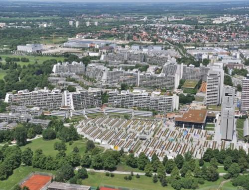Das Olympische Dorf in München